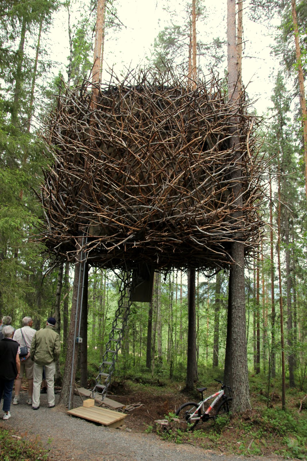 At home – Tree Hotel, Boden, Sweden