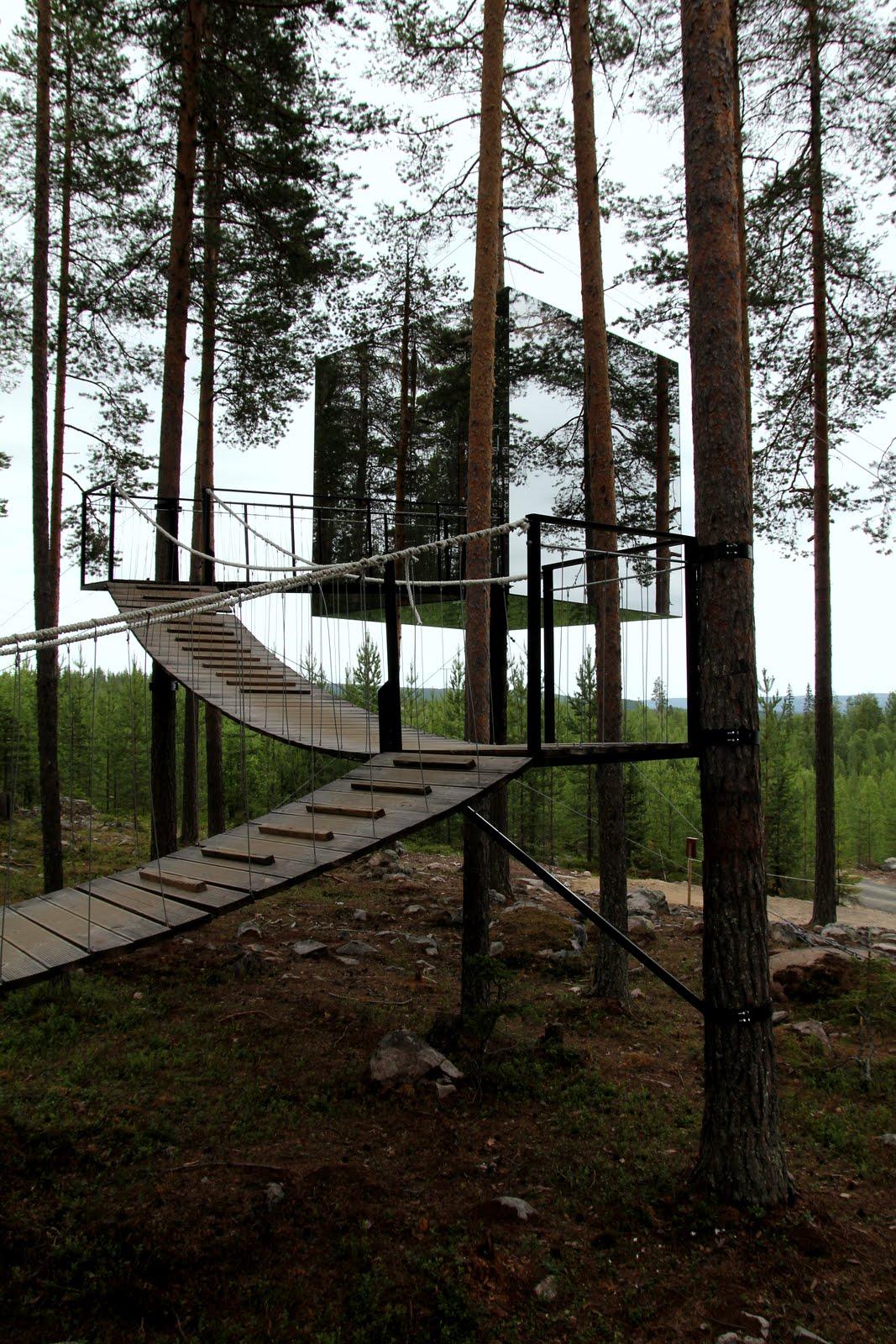At home tree hotel boden sweden for Boden sweden